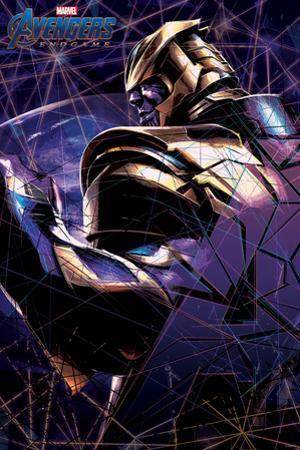 Avengers: Endgame - Thanos Shattered Glass