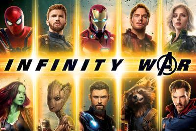 Avengers: Infinity War - Avengers Grid