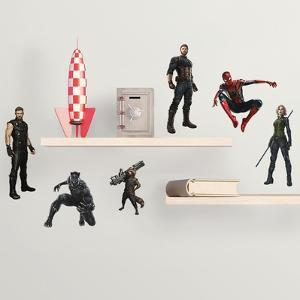 Avengers: Infinity War - Characters Peel And Stick Wall Decals