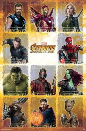 Avengers: Infinity War - Collage