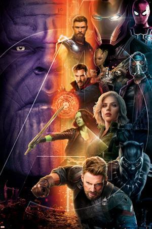 Avengers: Infinity War - Group Vertical