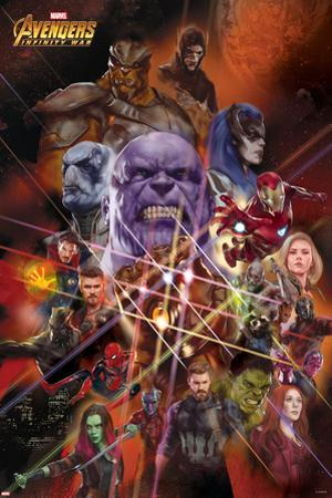Avengers: Infinity War - Heroes and Villians