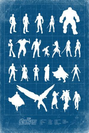 Avengers: Infinity War - Heroes Grid