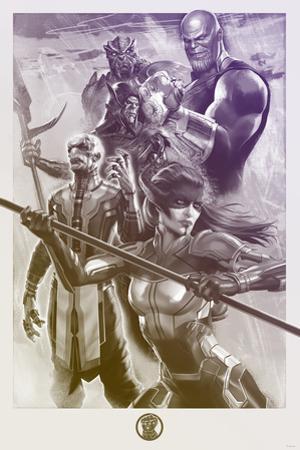Avengers: Infinity War - Painterly Villains