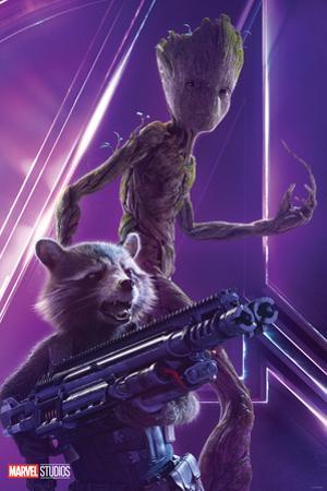 Avengers: Infinity War - Rocket and Groot