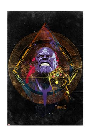 Avengers: Infinity War - Thanos (Nostalgic)