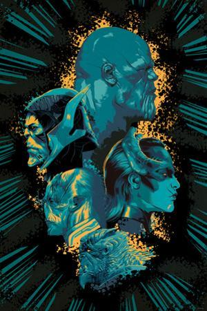 Avengers: Infinity War - Villians Cluster