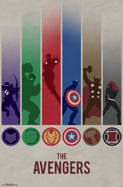 Avengers - Minimalist Logo