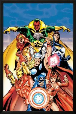 Avengers No.0 Annual Cover: Captain America