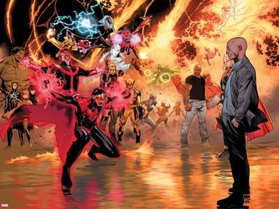 Avengers vs X-Men No. 11: Cyclops, Professor X, Dr. Strange, Cage, Luke, Storm, Thor