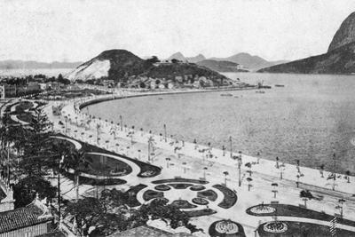 Avenida Beira-Mar, Botafogo, Rio De Janeiro, Early 20th Century