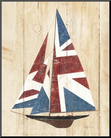 British Flag Sailboat by Avery Tillmon