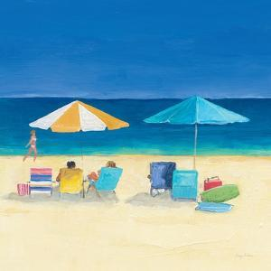 Day at the Beach Sq III by Avery Tillmon