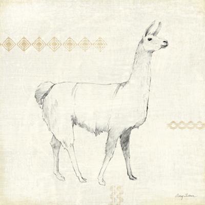 Llama Land VII by Avery Tillmon