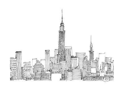 New York Skyline Crop by Avery Tillmon