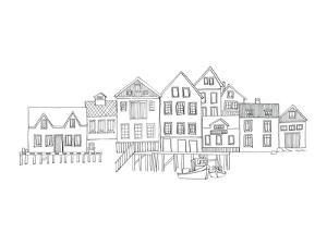 Nordic Village II by Avery Tillmon