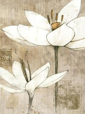 Pencil Floral I by Avery Tillmon