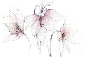Pink Graphite Floral Trio by Avery Tillmon