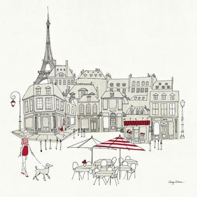 World Cafe II - Paris Red by Avery Tillmon