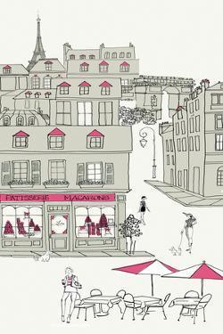 World Cafe V Paris II Pink v2 by Avery Tillmon