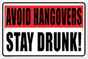 Avoid Hangovers