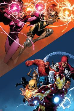 AVX: VS No. 6: Scarlet Witch, Summers, Hope, Iron Man, Red Hulk