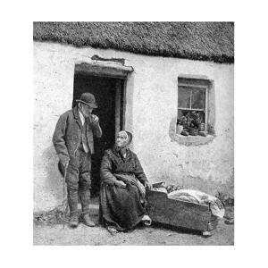 Waiting for the Doctor in Remote Galway, Ireland, 1922 by AW Cutler