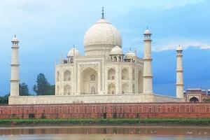 The Taj Mahal Agra India by awesomeaki