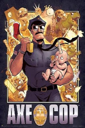 Axe Cop Cover Cartoon Poster