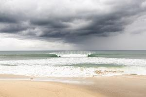 Hermosa Beach, Los Angeles County, California, USA: Dark Clouds Over The Beach by Axel Brunst