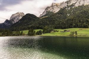 Hintersee, Ramsau, Bavaria, GER: Hintersee High Towering Mts Popular Location For Landscapists by Axel Brunst