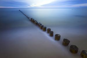 Long Exposure Seascape At The Coast Of The Baltic Sea Near Rerik, Germany by Axel Brunst