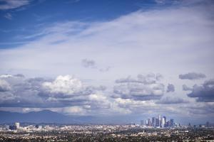Los Angeles, CA, USA: A Clear View Over The City Of LA After Receiving 1st Substantial Rain by Axel Brunst