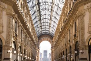 Milan, Lombardy, Italy: The Galleria Vittorio Emanuele Ii One Of The World's Oldest Shopping Malls by Axel Brunst