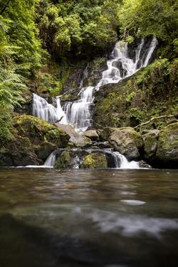 Torc Waterfall, Kerry, Ireland: A Waterfall In The Woods by Axel Brunst