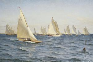 The Race by Axel Johansen