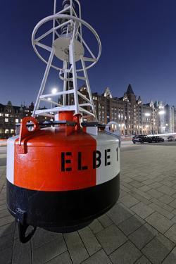 Buoy 'Elbe 1', Hafencity, Hanseatic City of Hamburg, Germany by Axel Schmies