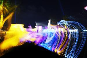 Colourful Illumination of Kuwait Square, Dynamic Version, Kuwait Square by Axel Schmies