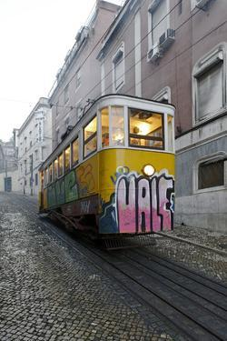 Elevador Do Lavra, Lisbon, Portugal by Axel Schmies