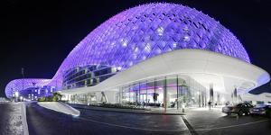 Luxury Hotel 'The Yas Hotel', Yas Islands, Abu Dhabi, United Arab Emirates by Axel Schmies