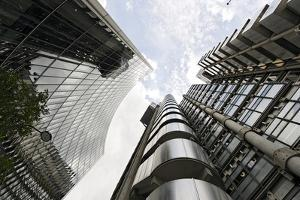 Modern Architecture, Lloyd'S, Lloyds Building, Tower by Architect Richard Rogers, London by Axel Schmies