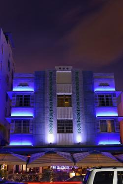 Park Central Hotel in the Art Deco District, Ocean Drive, Miami South Beach by Axel Schmies