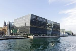 Royal Library, District Christianshavn, Copenhagen, Denmark, Scandinavia by Axel Schmies