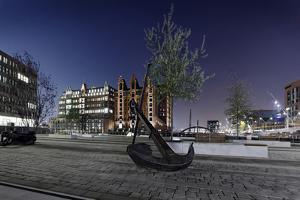 Ship Anchor, Maritime Museum, Hafencity, Hanseatic City Hamburg, Germany by Axel Schmies
