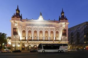 Theater Des Westens, Dusk, Berlin, Germany, Europe by Axel Schmies