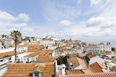 View over Alfama District and SŽ Cathedral