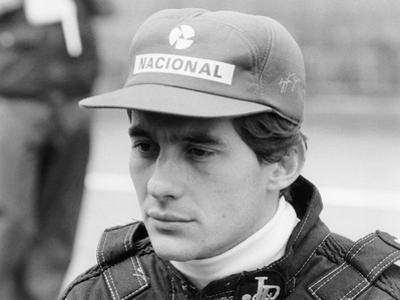 Ayrton Senna at the British Grand Prix, 1985
