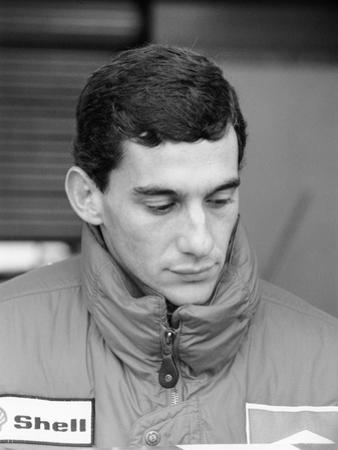 Ayrton Senna, in His First Season with Mclaren, 1988