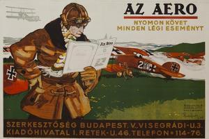 Az Aero Hungarian Aviation Magazine Poster