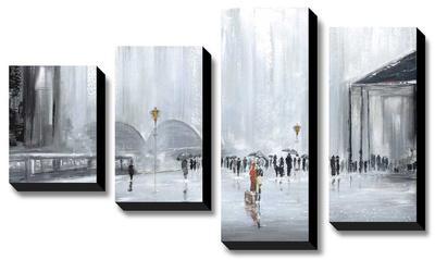 La Gare by Aziz Kadmiri